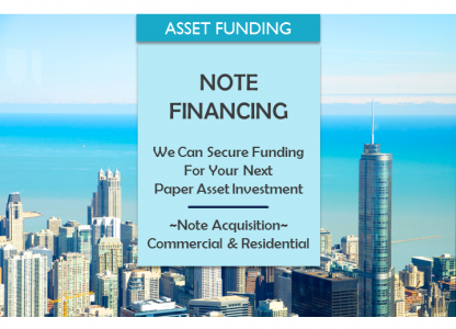 FINANCE YOUR NEXT NOTE ACQUISITION